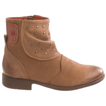 Brown Kickers Boots