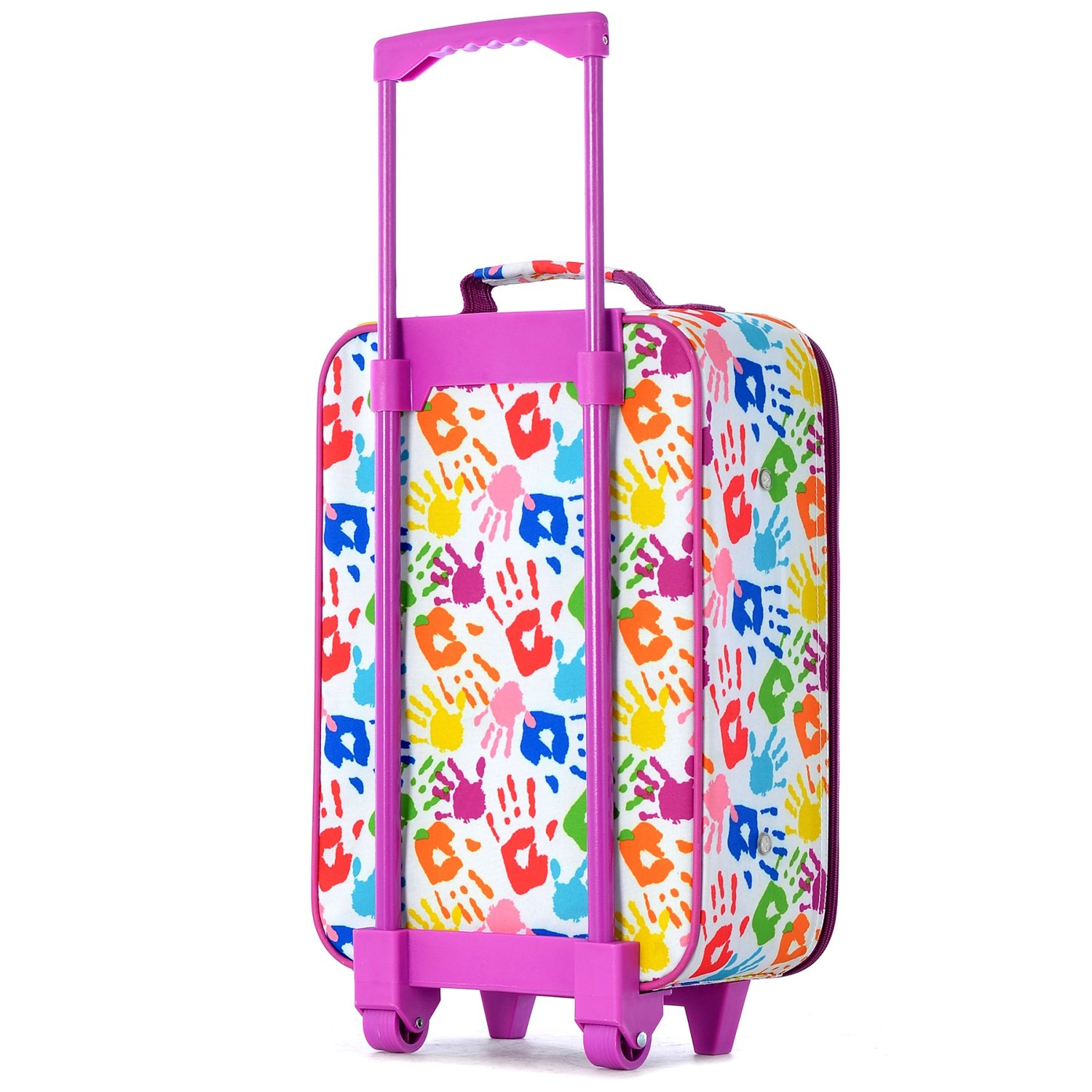 kids rolling suitcase personalized