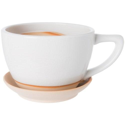 Medium Of Large White Coffee Mug