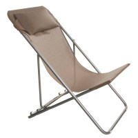 Lafuma Transatube XL Folding Chair with Headrest 1357D ...