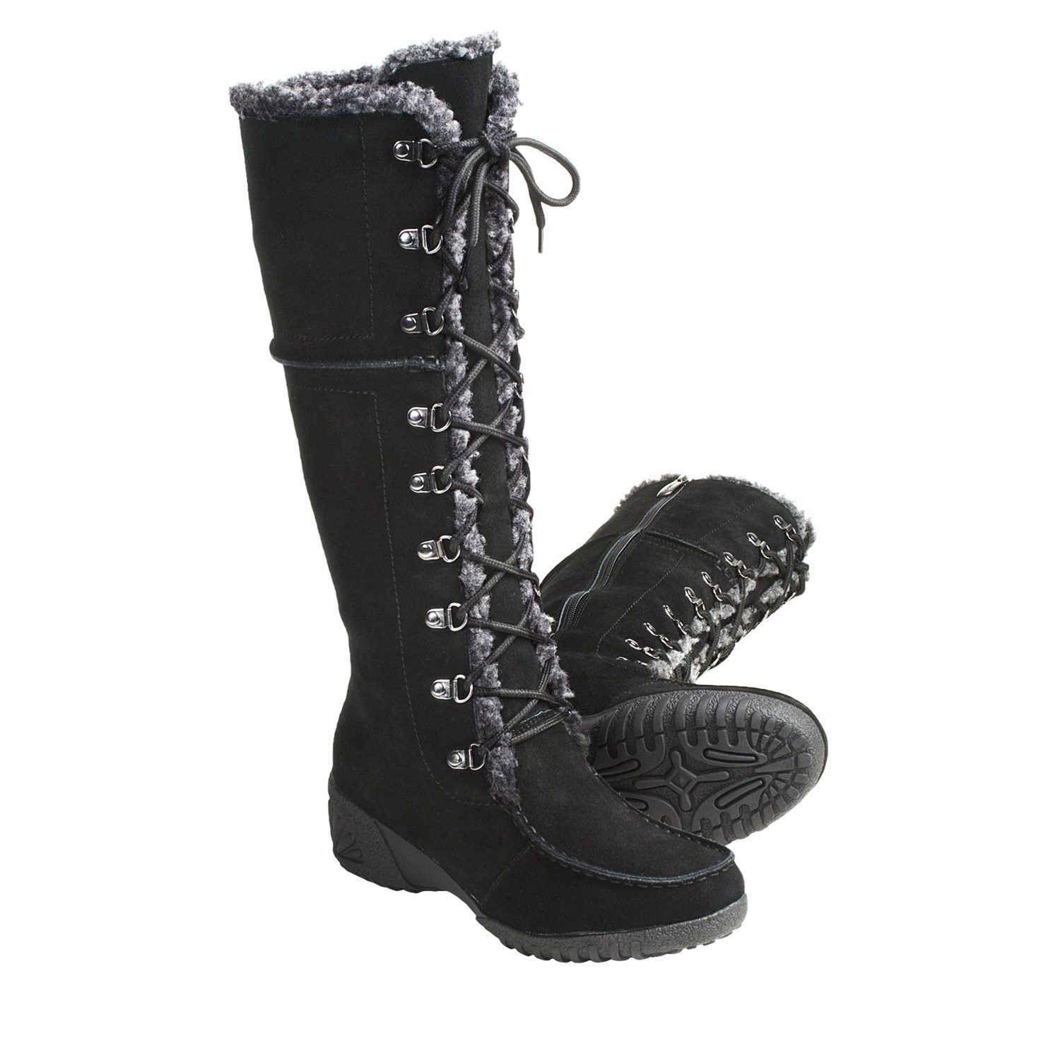 Khombu Saturn Lace Winter Boots For Women 3692t Save 35