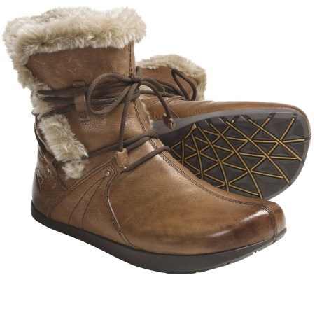 Ladies Sheepskin Lined Boots