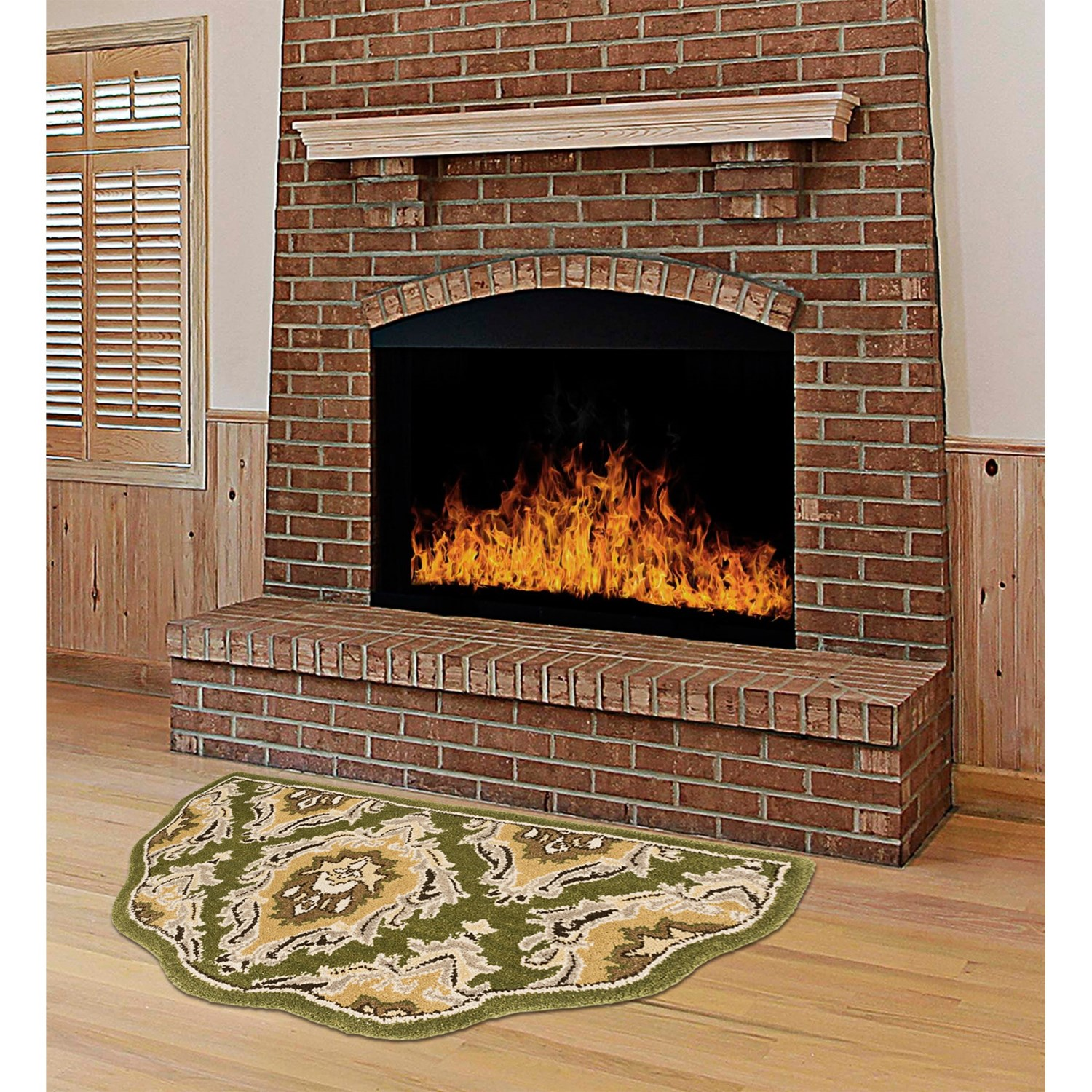 Fireplace Hearth Mat Kaleen Scalloped Hearth Rug Wool 21x42 Quot 6113v Save 35