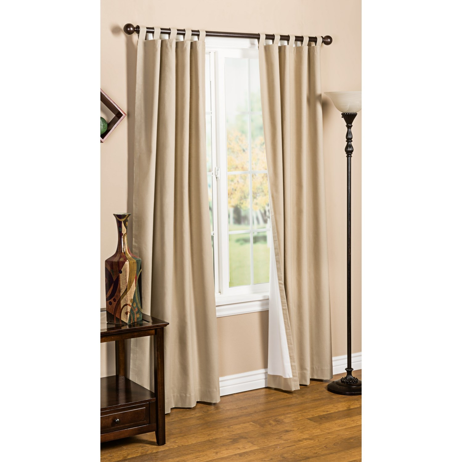 Tab Top Curtains Australia Commonwealth Thermal Lined Tab Top Curtain Panels 94025