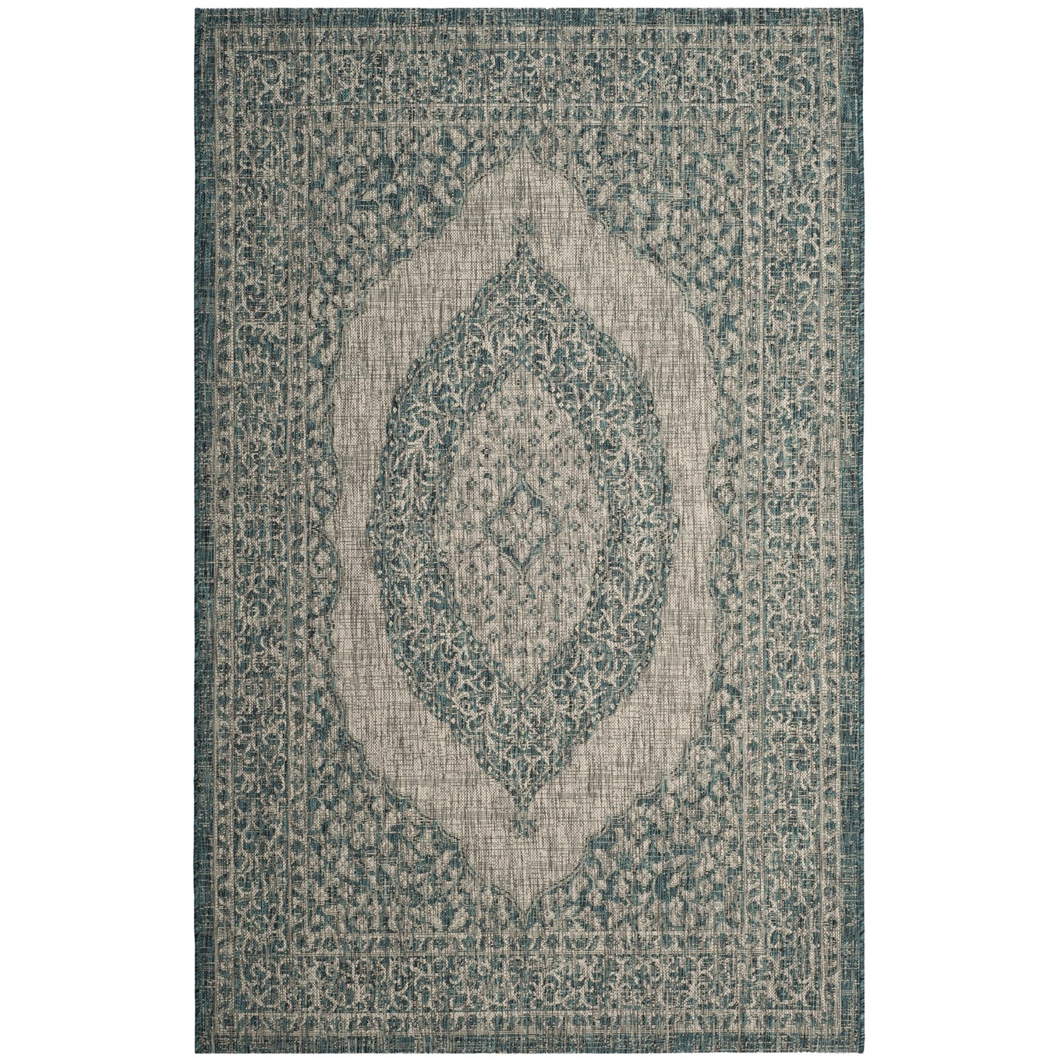 Safavieh Courtyard Safavieh Courtyard Collection Medallion Indoor Outdoor Area Rug