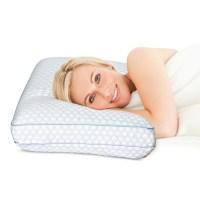 SensorPEDIC Regal Gel-Infused Memory-Foam Bed Pillow ...