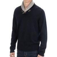 Men Toggle Sweater - Gray Cardigan Sweater