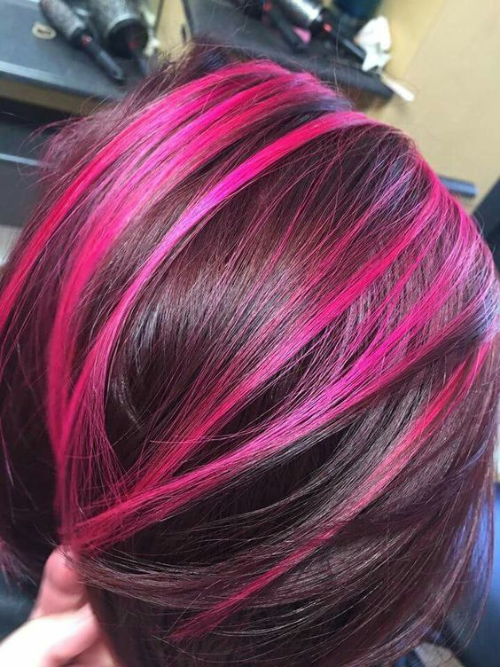 Balayage Ombre With Base Color 25 Magenta Hair Ideas To Stand Out Styleoholic