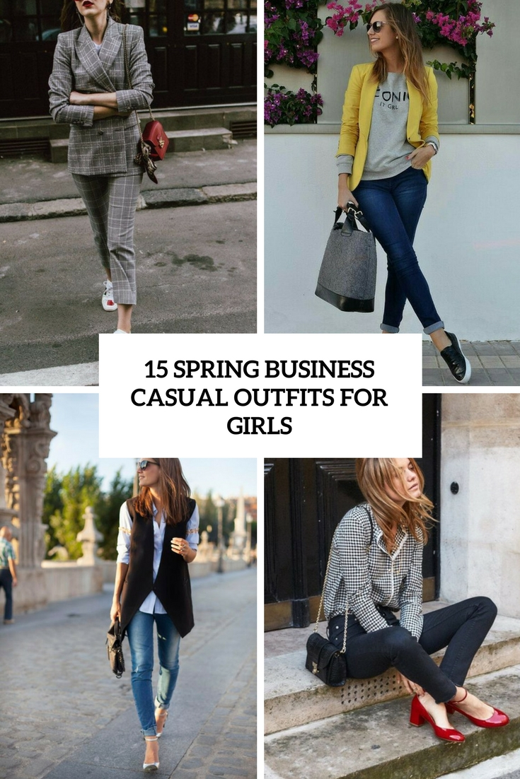 Outfit Business Casual 15 Spring Business Casual Outfits For Girls Styleoholic