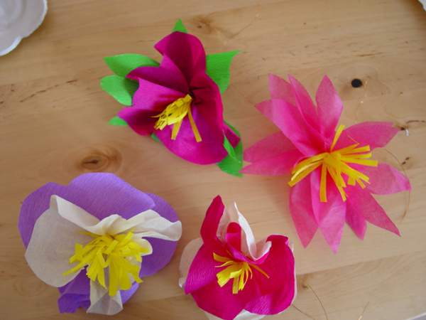 Papier Fleur Fleurs En Papier On Pinterest | Paper Flowers, Mariage And