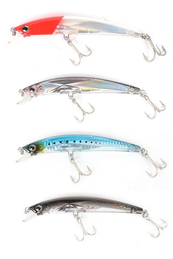 Yo-Zuri Crystal 3D Minnow Lures - 4 Pack Select Colors
