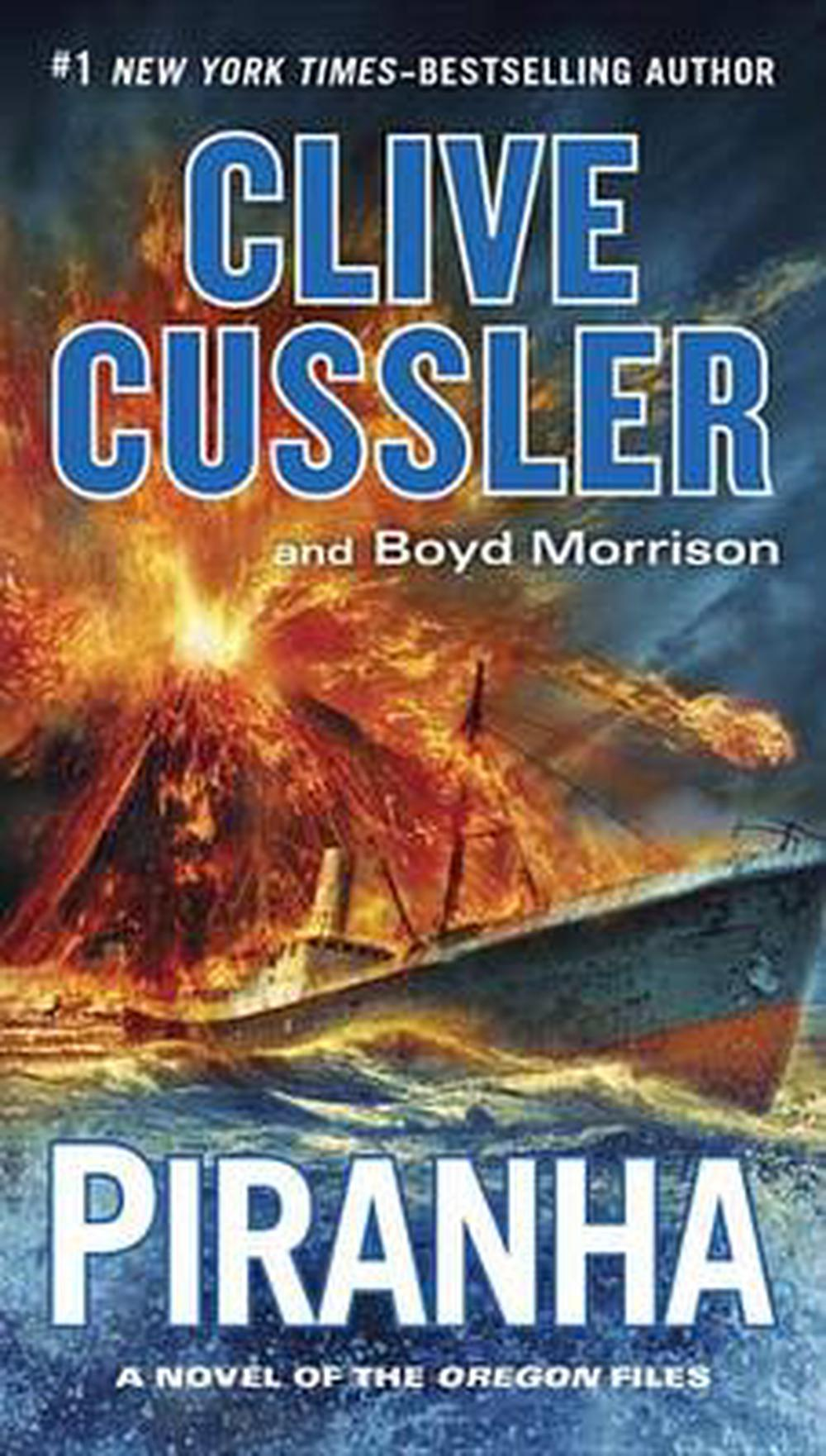 Clive Cussler Libros Details About Piranha By Clive Cussler English Mass Market Paperback Book Free Shipping