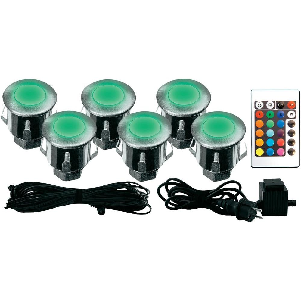 Eclairage Led Encastrable Exterieur Lumihome Rgb Kit6 Et Kit 6 Mini Spots Encastrables Led Rgb