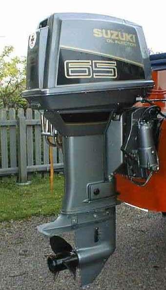 1994-1997 Suzuki DT55 DT65 DT60W 2-Stroke Outboard Motor Service