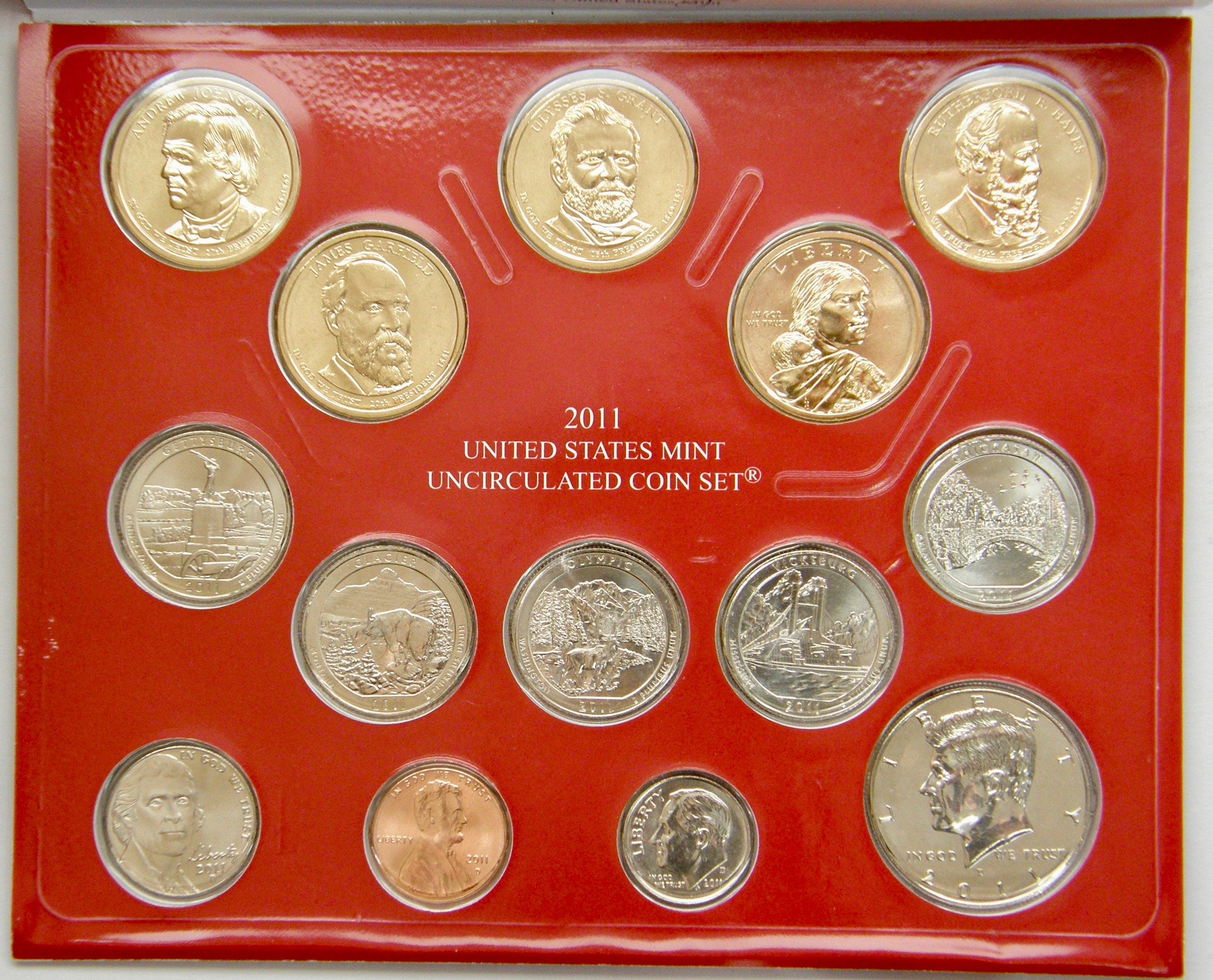 Mint Set 2011 D Uncirculated Mint Set Denver Mint Only
