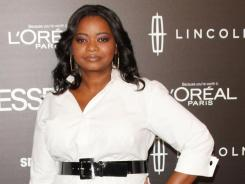 Octavia Spencer was among the stars at the Black Women In Hollywood luncheon Thursday at the Beverly Hills Hotel.