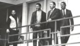 The Rev. Martin Luther King Jr., second from right, was assassinated