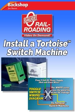 Watch Install a Tortoise Switch Machine Online Vimeo On Demand on