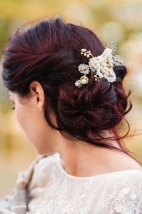 26 Chic Messy Chignon Wedding Hairstyles - Weddingomania ...