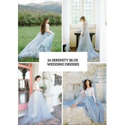 Small Crop Of Blue Wedding Dresses