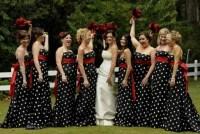 21 Unique Polka Dot Bridesmaid Dress Ideas - Weddingomania