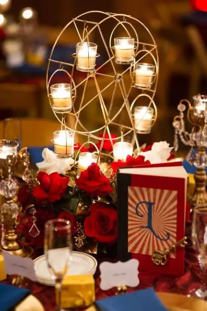 Elegant Wedding Reception Ideas 21 Whimsical Circus Wedding Theme Ideas - Weddingomania
