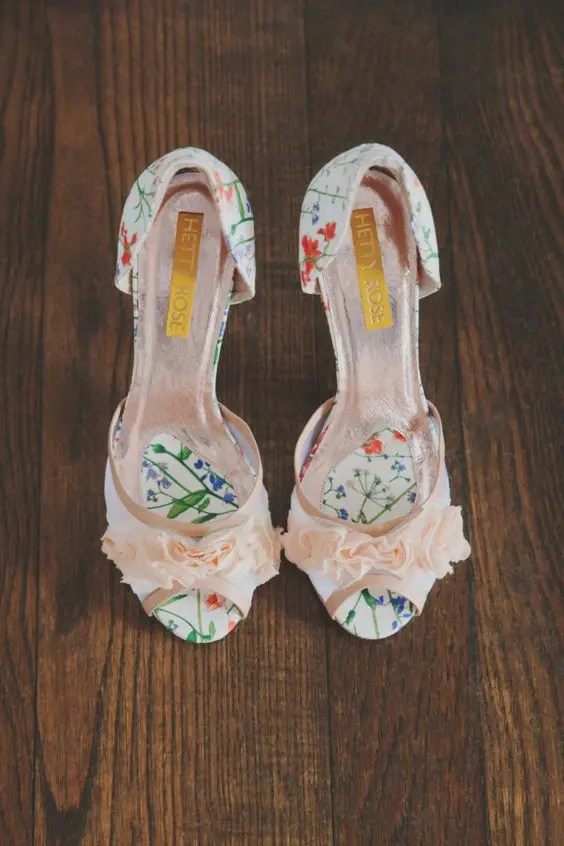 32 Floral Wedding Shoes Ideas For Spring And Summer Nuptials
