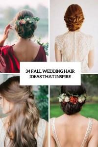 34 Fall Wedding Hair Ideas That Inspire - Weddingomania