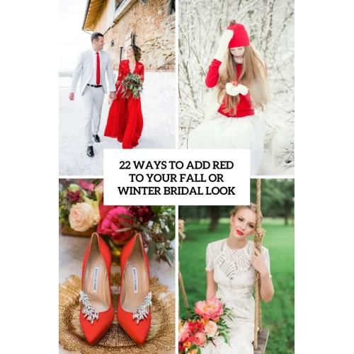 Medium Crop Of Red Wedding Dress