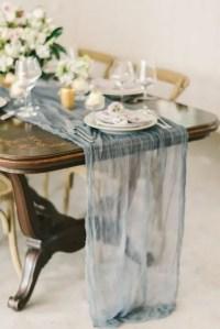 27 Beautiful Spring Wedding Table Runners - Weddingomania
