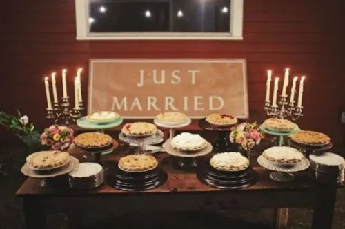 Bar Ideen 22 Cozy Pie Bar Ideas For Your Wedding - Weddingomania