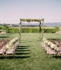 Picture Of amazing backyard wedding ceremony decor ideas 1