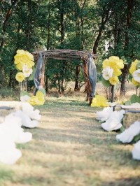 Picture Of amazing backyard wedding ceremony decor ideas 17