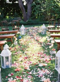 Picture Of amazing backyard wedding ceremony decor ideas 4