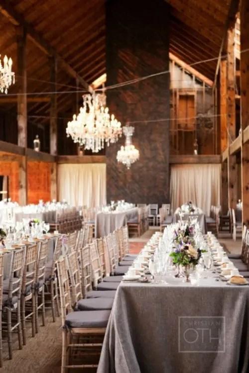 30 Wedding Long Tables And Receptions Ideas - Weddingomania - wedding reception setup with rectangular tables
