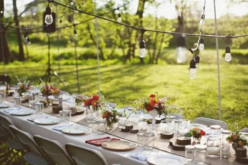 52 Wedding Long Tables And Receptions Ideas - Weddingomania