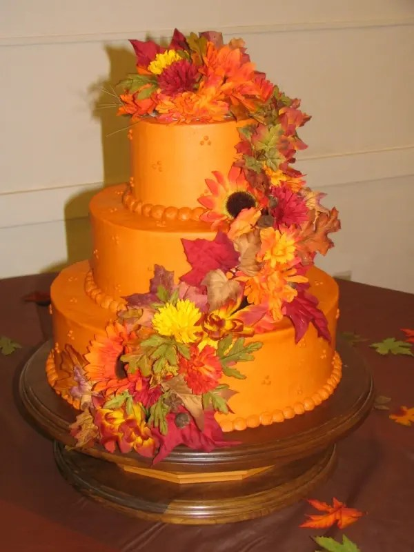 Simple Wallpapers Colors Fall Picture Of Awesome Fall Wedding Cakes