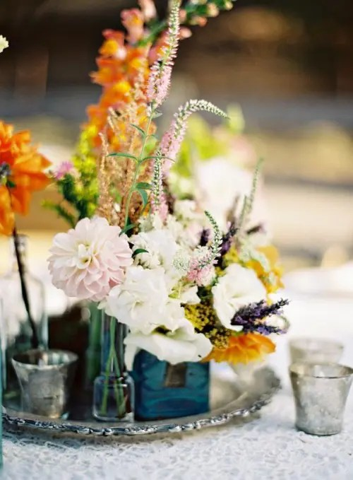 Wedding Decoration Ideas 34 Bold And Eye-catching Boho Chic Wedding Centerpieces