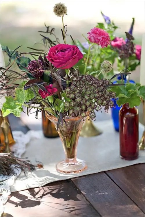 Fall Wedding Wallpaper 34 Bold And Eye Catching Boho Chic Wedding Centerpieces