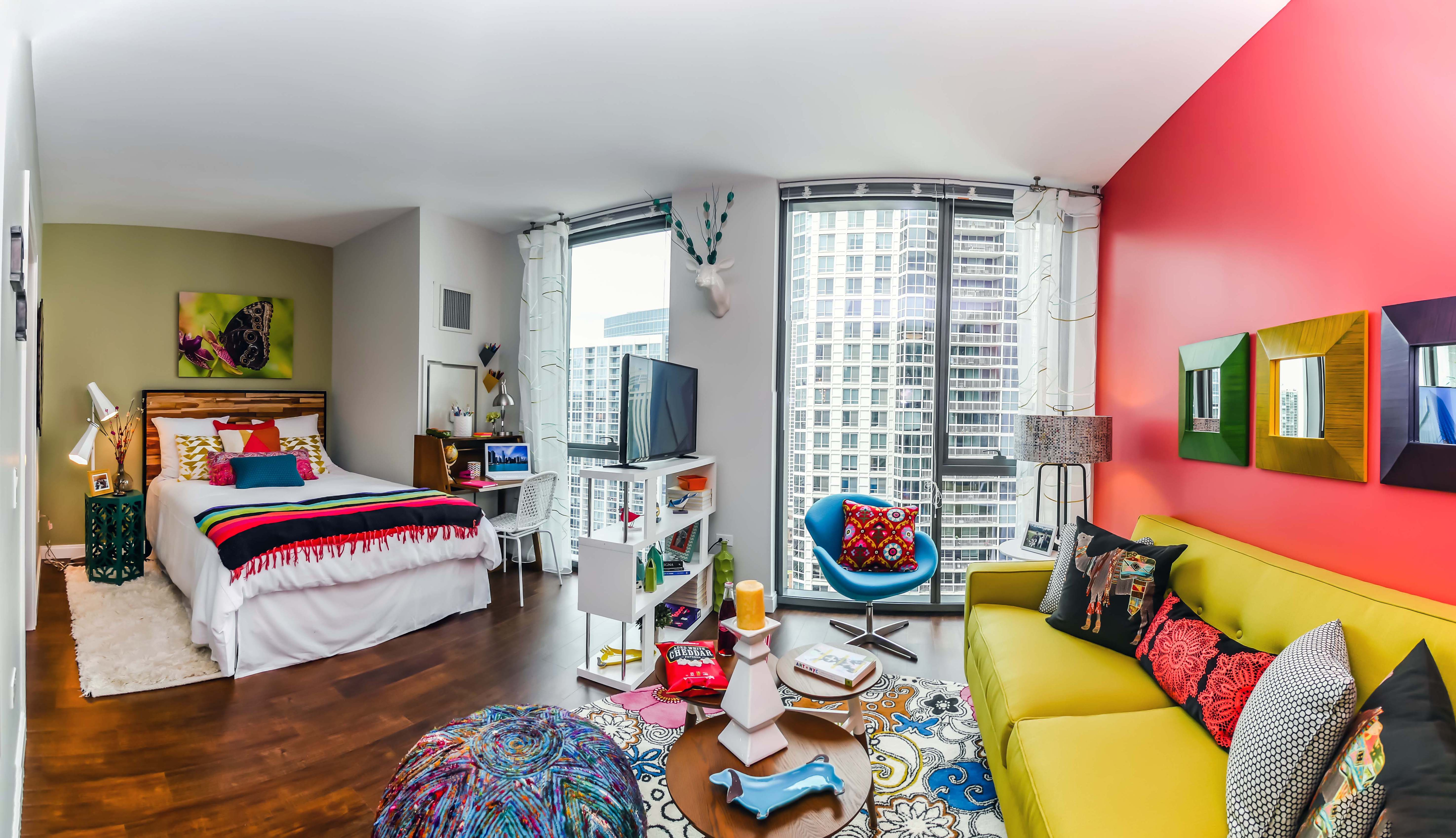 Studio Apartment Separate Sleeping Area Tour A New Gold Coast River North Alcove Studio
