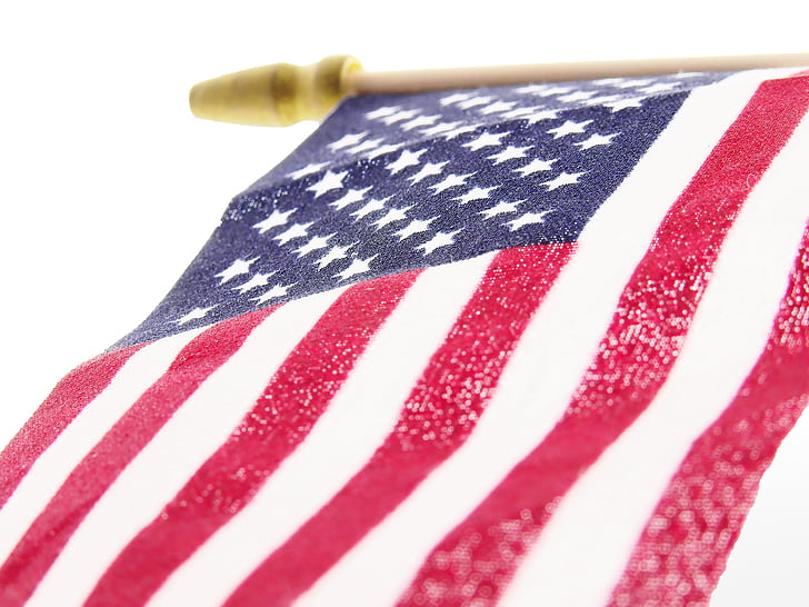 Free photo flag, united states of america, background, wallpaper