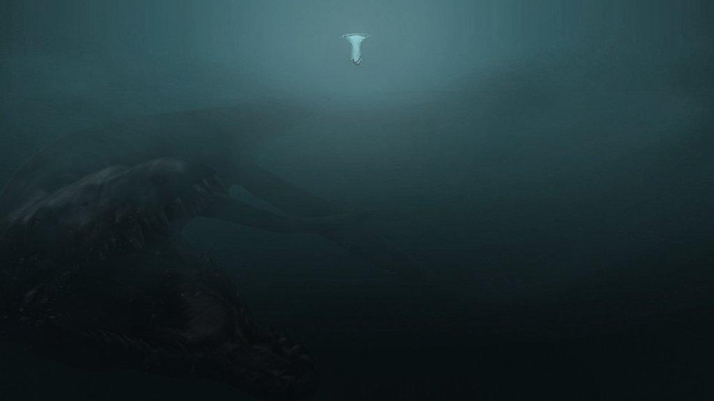Falling Into Water Wallpaper What Lurks Beneath Thalassophobia Know Your Meme