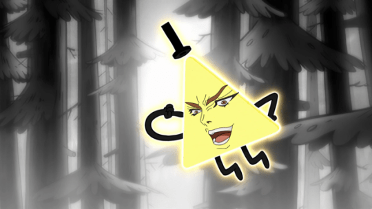 Rick And Morty Hd Wallpaper You Were Expecting Bill Cipher But It Was I Dio