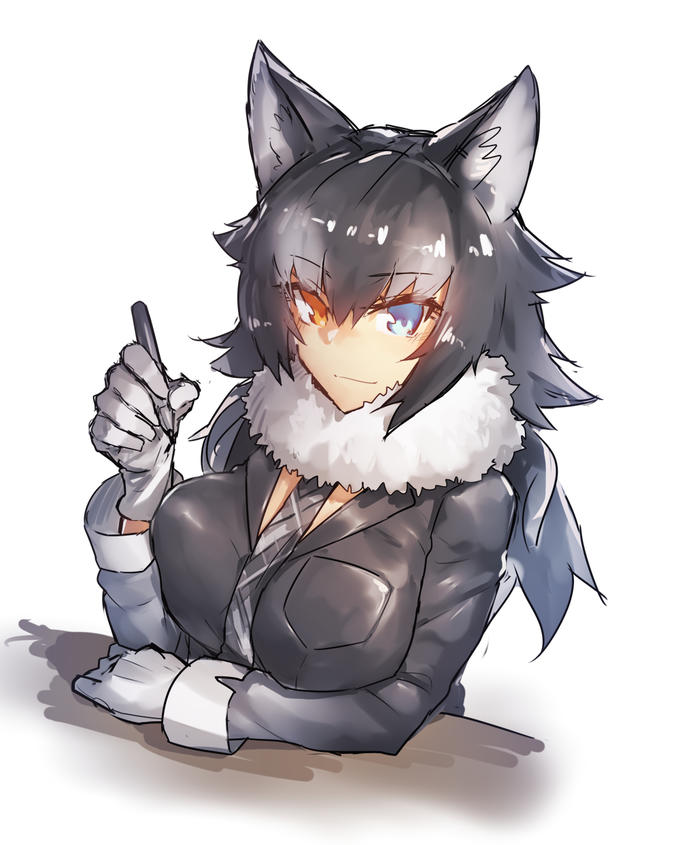 Saber Tooth Tiger 3d Wallpaper Grey Wolf The Manga Artist Kemono Friends Know Your Meme
