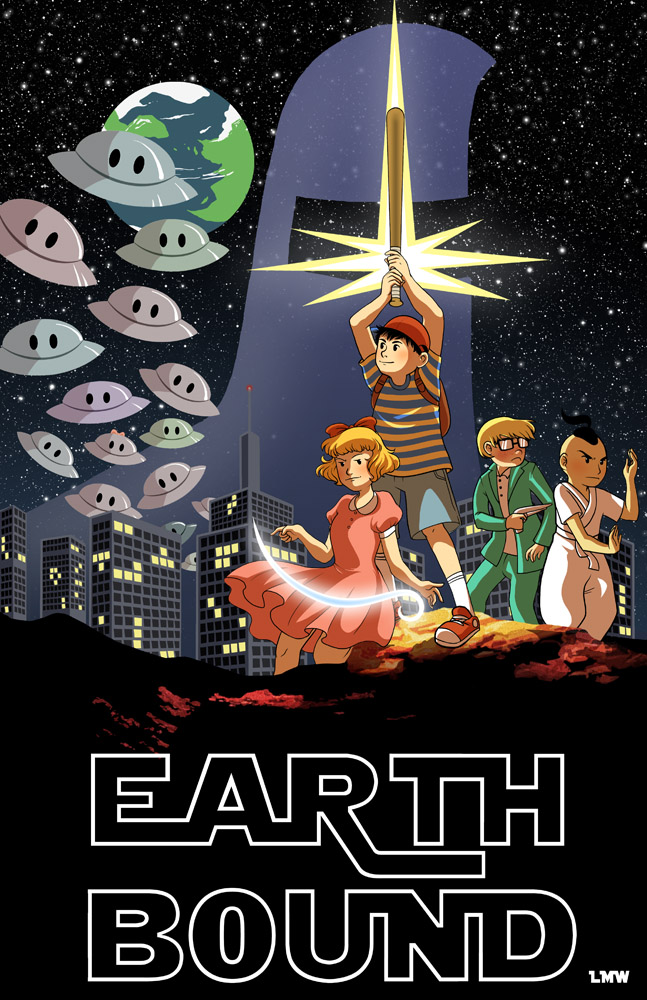 Videogame Wallpapers With Quotes Earthbound Star Wars By Lauramw Earthbound Mother