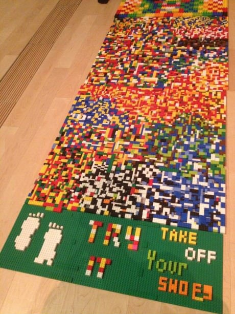 Lego Teppich Lego Shoe Rug | I Hope You Step On A Lego | Know Your Meme