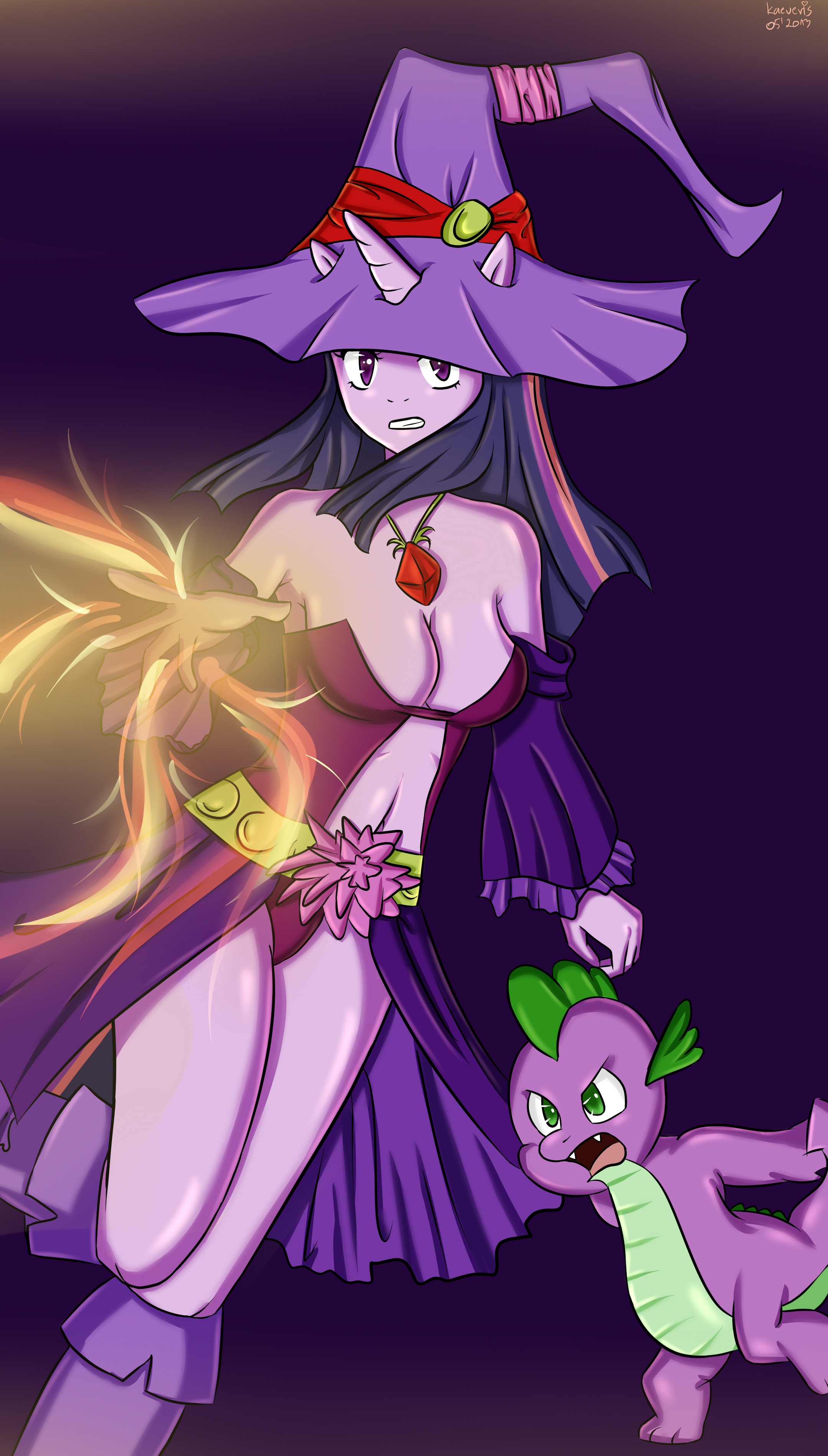 Return Of The Spice Girls Wallpaper My Little Fantasy Twilight Sparkle Mage My Little Pony