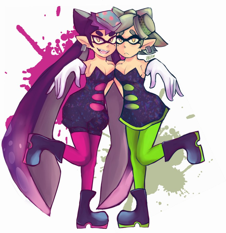Cute Temmie Wallpaper Squid Sisters Squid Sisters Know Your Meme