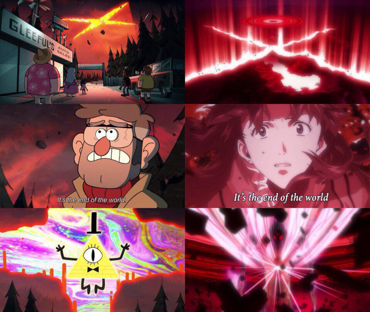 Mobile Wallpapers Gravity Falls Gravity Falls Evangelion Gravity Falls Know Your Meme