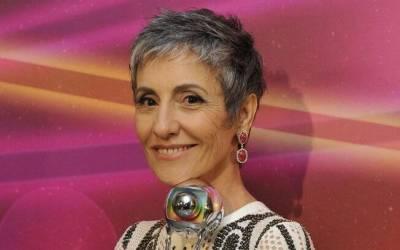 Famosas grisalhas: Jussara Freire e mais atrizes que ...